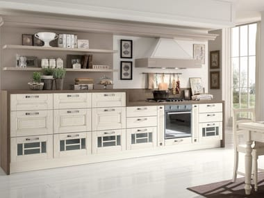 laura cucina in noce by cucine lube