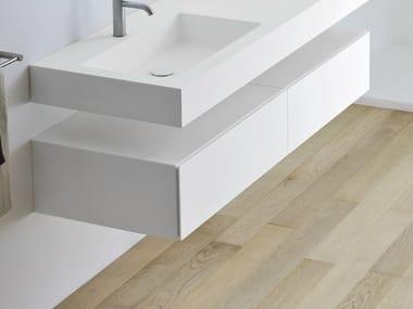Korakril™ bathroom cabinet with drawers UNICO | Bathroom cabinet
