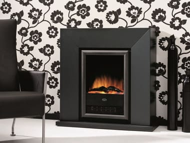 Electric wall-mounted fireplace DIABLO SUITE