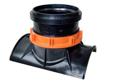 Clip meccanica per tubi in gres CLIP GRES