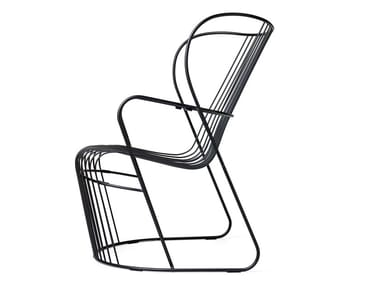 Steel garden armchair KASKAD   Garden armchair