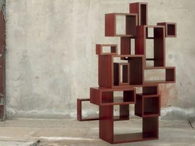 Libreria modulare in legno TETRIS