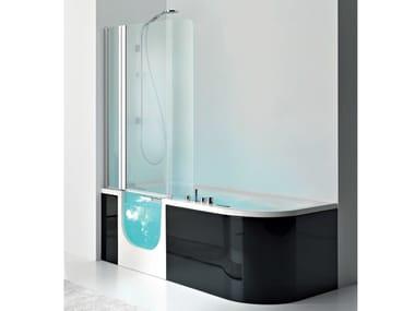Baignoire hydromassage avec douche FOR ALL BOX