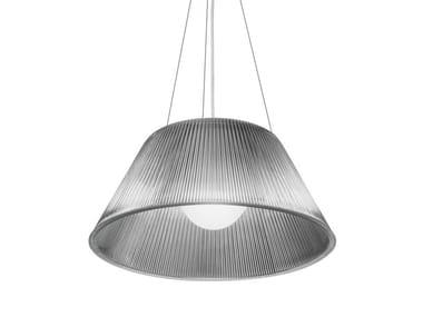 Glass pendant lamp ROMEO MOON S