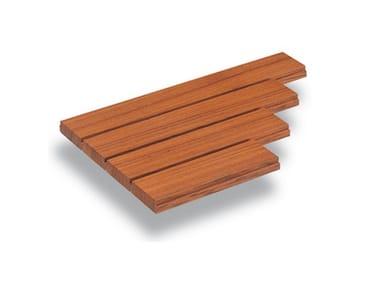 Настил из дерева, ПВХ и бетона Teak Planks