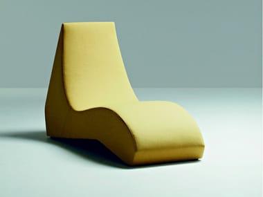 Chaise longue tapizada de estilo moderno STONES | Chaise longue de diseño