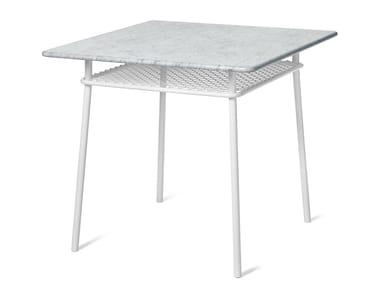 Square steel table WIMBLEDON   Square table