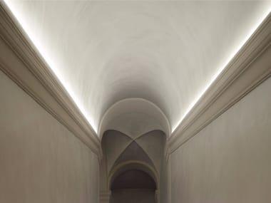 Profilo per illuminazione lineare in alluminio per moduli LED PROFILO T/U