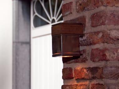 Lampada da parete a luce diretta in acciaio inox Q-BIC 1D | Lampada da parete