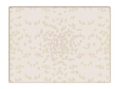 Trapunta jacquard in cotone con motivi floreali BUTTERFLY | Trapunta