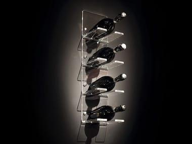 Range-bouteilles en plexiglas RACK X 1