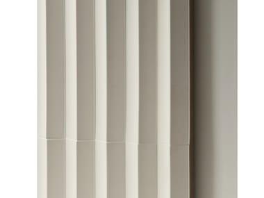 Revêtement mural 3D en grès cérame pour intérieur ROMBINI TRIANGLE WHITE