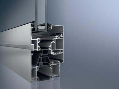 Aluminium thermal break window Schüco AWS 65