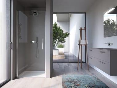 cabina de ducha en nicho de vidrio omega cabina de ducha en nicho