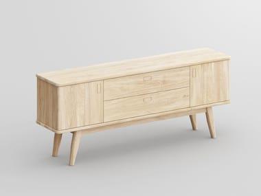 Solid wood sideboard AETAS SPACE | Sideboard