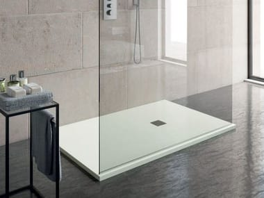 rectangular custom shower tray slim shower tray