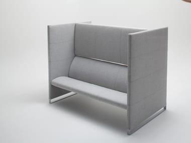 High-back fabric sofa PLUS | Sofa