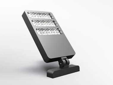 Proiettore per esterno a LED in alluminio pressofuso SOSTITUTO SPOT | Proiettore per esterno