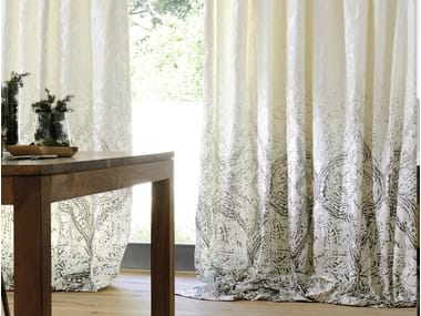 Jacquard fabric for curtains SUMBA