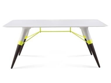 Tavolino rettangolare in Corian® T / SMALL