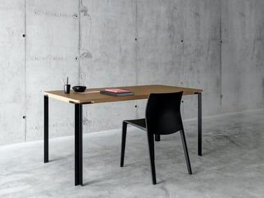 Table rectangulaire en MDF TAL