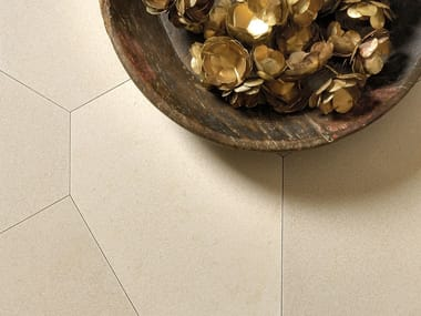 Natural stone wall/floor tiles TERRA POLIGONO6 BEIGE