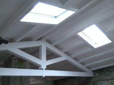 Armadura de madera y estructura de madera para cubierta Timber truss