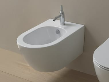 Wall-hung ceramic bidet LIKE | Wall-hung bidet