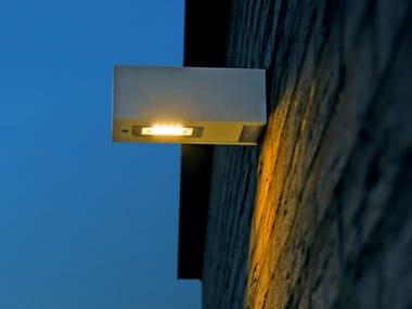 Lampada da parete a luce diretta in Corian® TWIN WALL