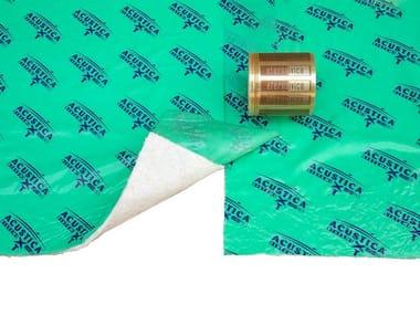 Panel y ladrillo fonoaislante y fonoabsorbente de fibra mineral TXT® Ecotex