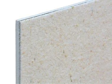 Panel y ladrillo fonoaislante y fonoabsorbente de fibra mineral TXT® Gipslight