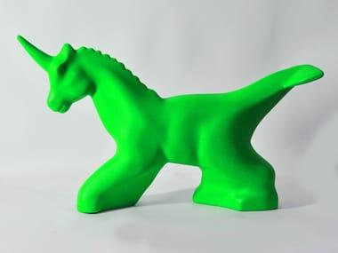 Sculpture en polyéthylène UNICORNO-DELFINO