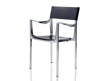 Sedia impilabile con braccioli VENICE | Sedia
