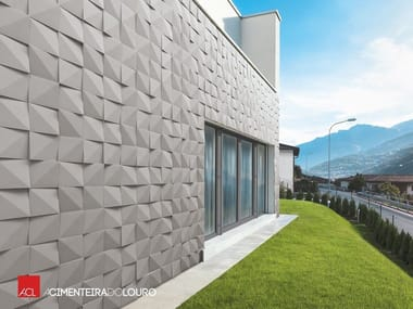 de pared d para fachadas de hormign vrtices de pared d para fachadas