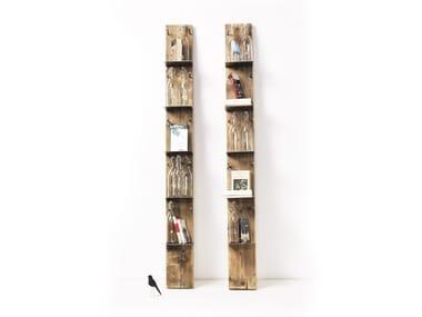 Bibliothèque / Range-bouteilles en épicéa VIAN