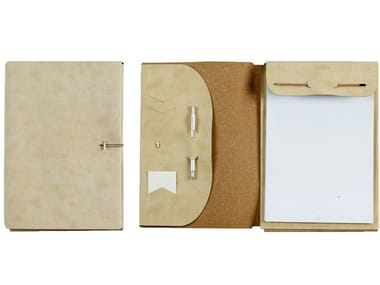 A4 notepad folder in nubuck VT A4/D