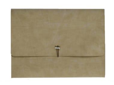 A4 document folder in nubuck VT SOTTOBRACCIO/D