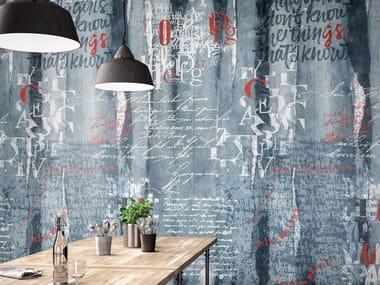 Indoor porcelain stoneware wall tiles WONDERWALL SCRIPT