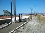 Lavori di realizzazione lungomare e pista ciclabile - Localit� Giovino   Catanzaro Lido (Catanzaro)