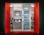 Armadio con contenimento e elettrodomestici VENUS, personalizzabile