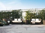 Divano da giardino a 2 posti AGORÀ | Divano da giardino - Atmosphera