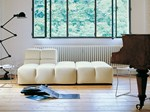 Sectional upholstered fabric sofa TUFTY TIME | Sofa - B&B Italia