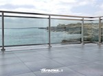 Railings and balustrades Alluminium and glass railing - FARAONE