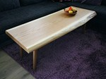 Solid wood coffee table 0052 - holz elf