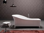 - Freestanding bathtub in MineraLite SOFA - Glass 1989