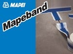 Tape and joint for waterproofing MAPEBAND - MAPEI