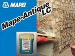 Renovating and de-humidifying additive and plaster MAPE-ANTIQUE LC - MAPEI