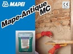Renovating and de-humidifying additive and plaster MAPE-ANTIQUE MC - MAPEI