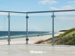 - Baranda de escalera en aluminio y vidrio SKY   Baranda de escalera en aluminio y vidrio - FARAONE