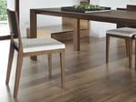 Sedia imbottita in legno ZOE - FEG Industria Mobili